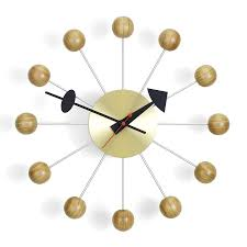 Herman Miller Clock Vitra Ball Clock Cherry Winter Promotion By George Nelson 1948