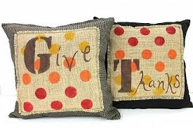 thanksgiving give thanks pillow set project by decoart