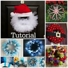 20 diy christmas wreath projects to adore your home beesdiy com