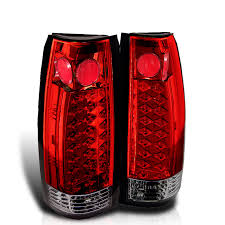 2000 chevy silverado tail light assembly led tail lights ikon auto parts