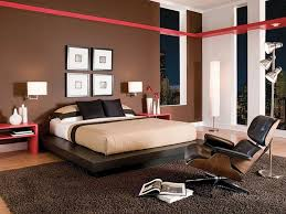 red and brown bedroom ideas modern bedroom design with brown wall color white bed and brown