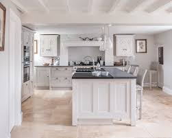 a bright and airy shaker kitchen designed by cheshire furniture