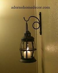 Rustic Sconce Lantern Wall Sconce Foter