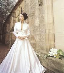 robe de mariã e hiver photo robe de mariée à manches longues robe d hiver