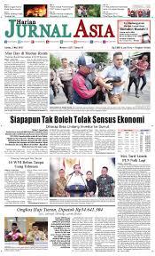harian jurnal asia edisi senin 02 mei 2016 by harian jurnal asia