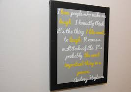 Audrey Hepburn Love Quotes by Audrey Hepburn Quote Laughter Quote Wall Art Canvas Wall