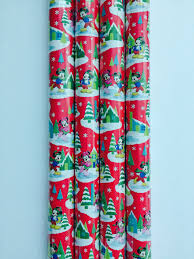 gift wrap paper rolls disney mickey and minnie mouse christmas gift wrap
