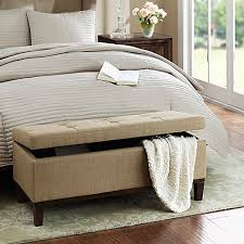 Benches For Foot Of Bed Ottomans U0026 Benches Bed Bath U0026 Beyond