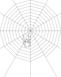 printable spider web coloring pages coloring me