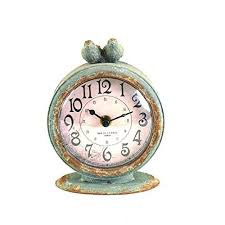 black wrought iron table clock small table clocks in perfect creative alarm clock silent character