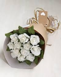 1st wedding anniversary gift anniversary gift bouquet paper roses 1st wedding anniversary