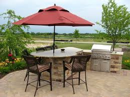 built in grill with umbrella google search patio pinterest