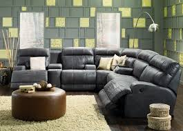 Palliser Theater Seating Palliser Lincoln Sectional Sofa