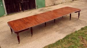 Antique Boardroom Table 5 Metre Original Antique Oak Dining Table
