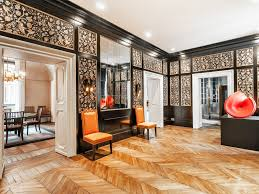a lavish apartment inside a palace in the heart of rome