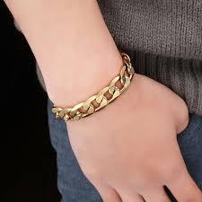 bracelet chain link styles images 12 mm brand male chic cuban chain link bracelet for men jewelry jpg