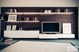 Grey Floor Living Room Living Room Amazing Wooden Media Storage And Rack With White