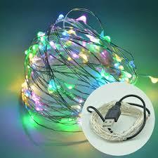usb powered led light rgb usb powered led light string
