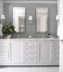 Master Bathroom OOOHHHH White Cabinets With Silver Hardware - White cabinets master bathroom