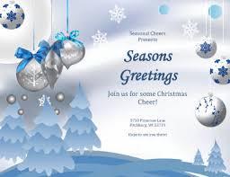 free printable christmas party flyers u2013 happy holidays