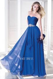a line royal blue sweetheart neckline chiffon floor length evening