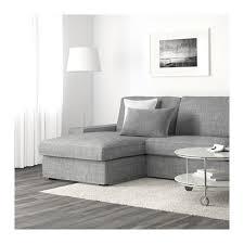 ikea de sofa kivik sofá 3 lugares c chaise longue isunda cinz ikea sala