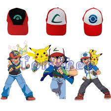 Ash Ketchum Halloween Costume Aliexpress Buy Anime Pokemon Ash Ketchum Adjustable Curved