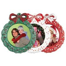 tree photo holder wreath 2 1 4 picture ornaments 2039