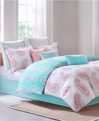 bedroom coral bedding twin with coral comforter set