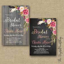 rustic garden bridal shower invitation invite welcome sign thank