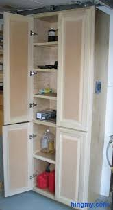 wood garage storage cabinets how to build a full length storage cabinet diy tips from hingmy