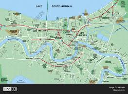 Map New Orleans by New Orleans Metropolitan Area Map Stock Photo U0026 Stock Images