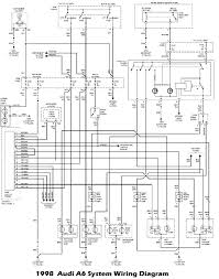 diagram audi a6 1998 wiring wiring diagrams instruction