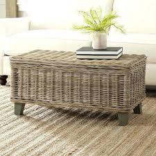 Wicker Side Table Awesome Round Wicker Side Table Round Wicker Coffee Table With