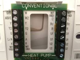honeywell visionpro thermostat lennox heat pump thermostat wiring