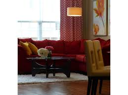 awesome living room with red accents living room light carpet