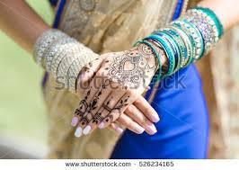 mehendi on hands girlswoman hands black stock photo 526234165