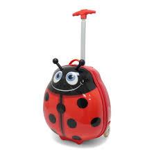 kids travel 2 children u0027s suitcase ladybird u2013 kidstravel2 com