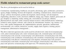 Prep Cook Duties For Resume Job Description Of A Prep Cook Job Description Kitchen Prep Cook