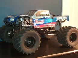 monster jam 1 24 scale trucks home build solid axles monster truck using 1 8 transmission r