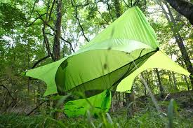 camp like u0027avatar u0027 in a floating hammock tent cocoon cnet