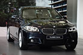 bmw car price in india 2013 2013 bmw 5 series facelift launched in india team bhp