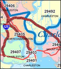 charleston sc zip code map alfa img showing charleston south carolina zip code