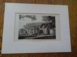 The Warren Floor Plan by House Of Everettt Chadwick Floor Plan Winchester Ma Lithograph