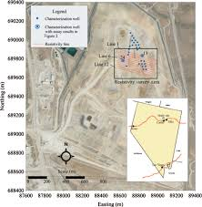 Map Of Usa With Coordinates by Moisture Estimation Within A Mine Heap An Application Of