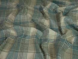 wool upholstery fabric curtain fabric 100 edinburgh wool tartan plaid check duck egg