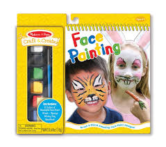 amazon com melissa u0026 doug craft and create face painting kit