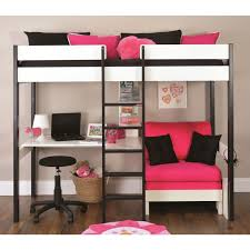 Bunk Bed With Desk For Adults Pretty Adult Loft Bed With Desk And Couch Fabulous Girls Loft Bed
