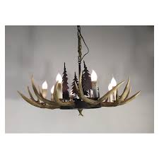 high quality american country style iron tree deer horn