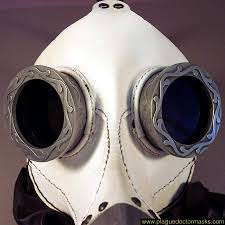 white plague doctor mask white steunk plague doctor mask for sale costume